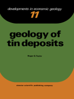 Geology of Tin Deposits