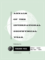 Les Marees Terrestres: Annals of The International Geophysical Year, Vol. 31
