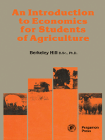 An Introduction to Economics for Students of Agriculture