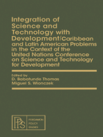 Integration of Science and Technology with Development