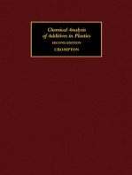 Chemical Analysis of Additives in Plastics