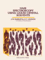 NMR Spectroscopy Using Liquid Crystal Solvents