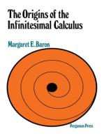 The Origins of Infinitesimal Calculus