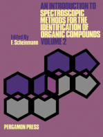 An Introduction to Spectroscopic Methods for the Identification of Organic Compounds