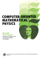 Computer-Oriented Mathematical Physics