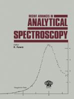 Recent Advances in Analytical Spectroscopy