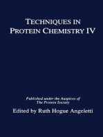 Techniques in Protein Chemistry IV