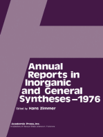 Annual Reports in Inorganic and General Syntheses-1976