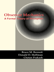 Observer Mechanics: A Formal Theory of Perception