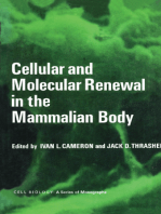 Cellular and Molecular Renewal in the Mammalian Body