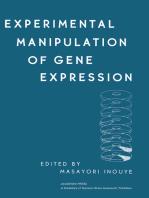 Experimental Manipulation of Gene Expression