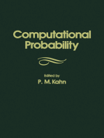 Computational Probability: The Proceedings of the Actuarial Research Conference on Computational Probability Held at Brown University, Providence, Rhode Island, on August 28-30, 1975