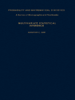 Multivariate Statistical Inference
