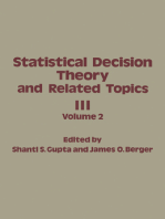 Statistical Decision Theory and Related Topics III