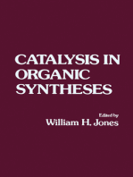 Catalysis in Organic Syntheses