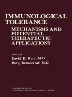 Immunological Tolerance