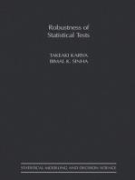 Robustness of Statistical Tests