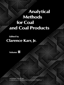 Analytical Methods for Coal and Coal Products: Volume II