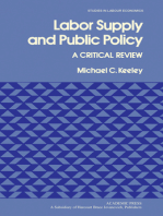 Labor Supply and Public Policy: A Critical Review