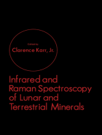 Infrared and Raman Spectroscopy of Lunar and Terrestrial Minerals