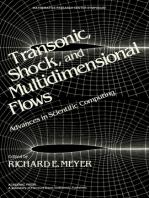 Transonic, Shock, and Multidimensional Flows: Advances in Scientific Computing