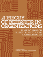 A Theory of Behavior in Organizations