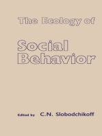 The Ecology of Social Behavior