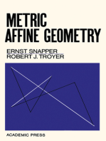 Metric Affine Geometry