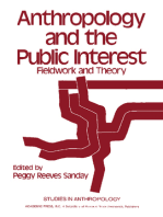Anthropology and the Public Interest