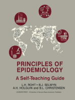 Principles of Epidemiology