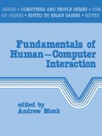 Fundamentals of Human-Computer Interaction