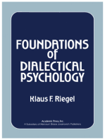 Foundations of Dialectical Psychology