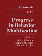 Progress in Behavior Modification