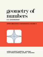 Geometry of Numbers