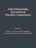 Algorithmically Specialized Parallel Computers