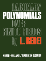 Lacunary Polynomials Over Finite Fields
