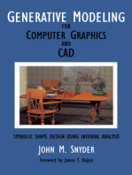 Generative Modeling for Computer Graphics and Cad: Symbolic Shape Design Using Interval Analysis