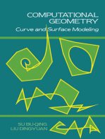 Computational Geometry: Curve and Surface Modeling