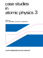 Case Studies in Atomic Physics