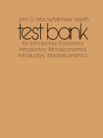 Test Bank for Introductory Economics: And Introductory Macroeconomics and Introductory Microeconomics