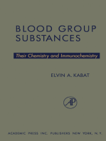 Blood Group Substances: Their Chemistry and Immunochemistry