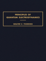 Principles of Quantum Electrodynamics