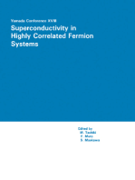Proceedings of the Yamada Conference XVIII on Superconductivity in Highly Correlated Fermion Systems: Sendai, Japan, August 31 - September 3, 1987