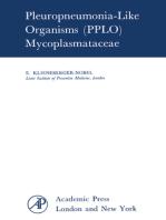 Pleuropneumonia-Like Organisms (PPLO): Mycoplasmataceae