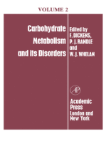 Carbohydrate Metabolism: And Its Disorders