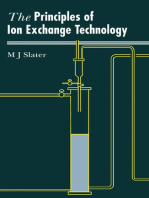 Principles of Ion Exchange Technology