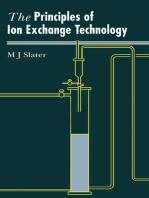 Principles of Ion Exchange Technology
