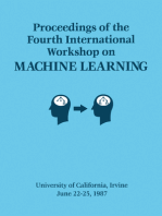Proceedings of the Fourth International Workshop on MACHINE LEARNING