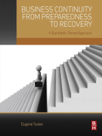 Business Continuity from Preparedness to Recovery: A Standards-Based Approach
