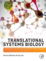 Translational Systems Biology